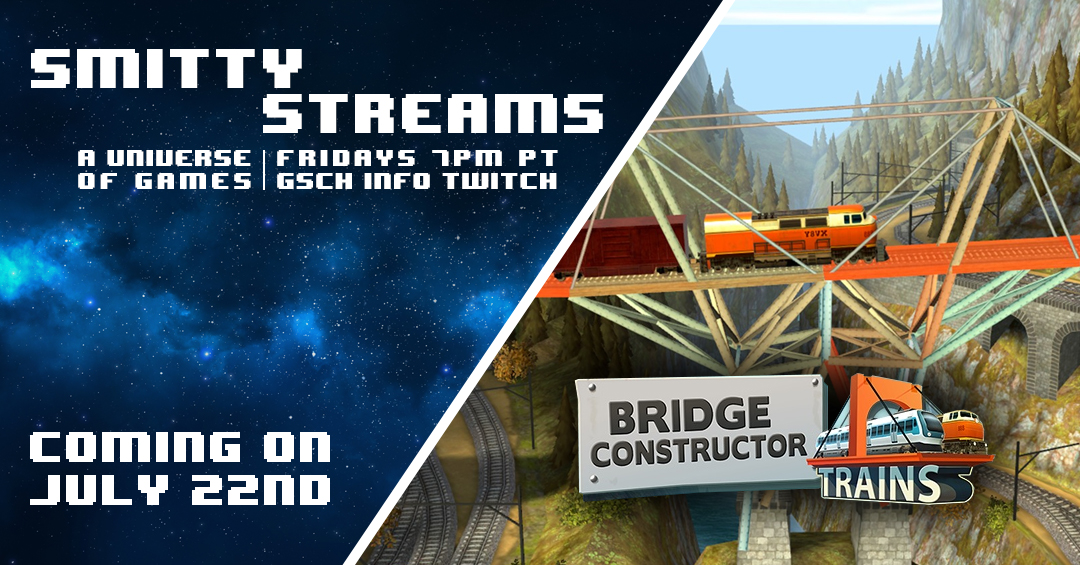 Smitty Streams: Bridge Constructor: Trains - Gaiscioch Magazine & Livestreams
