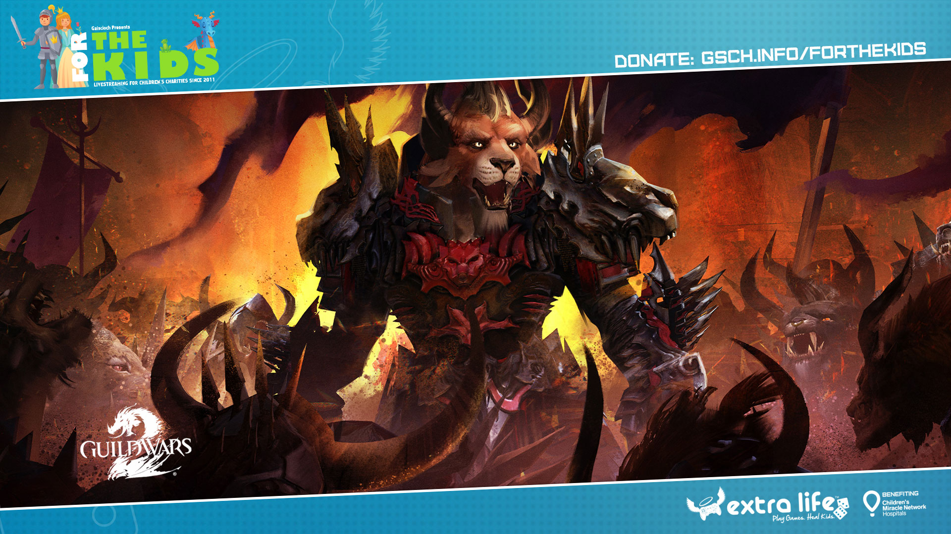 Extra Life Charity Livestream: Guild Wars 2 - Gaiscioch Magazine & Livestreams