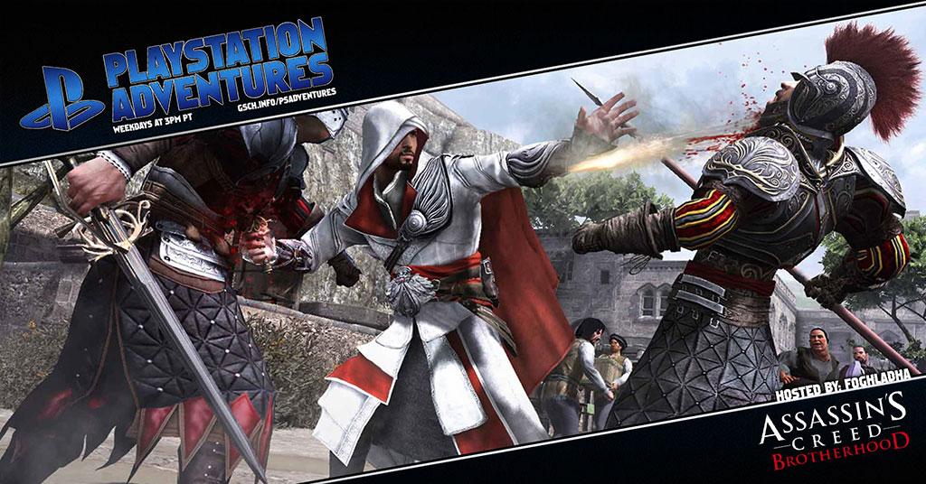 Playstation Adventures: Assassin's Creed: Brotherhood - Gaiscioch Magazine & Livestreams