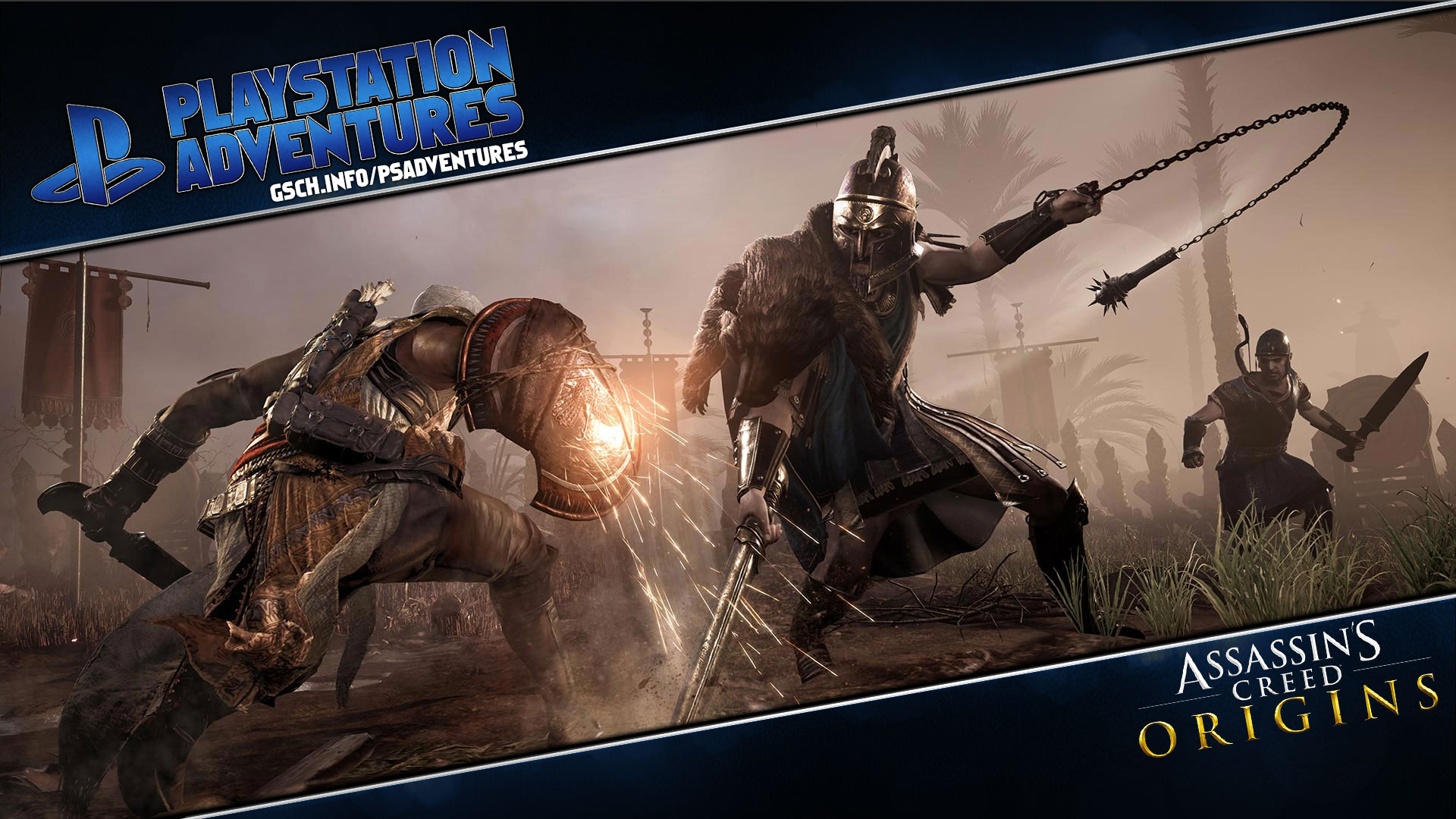 Playstation Adventures: Assassin's Creed: Origins - Gaiscioch Magazine & Livestreams