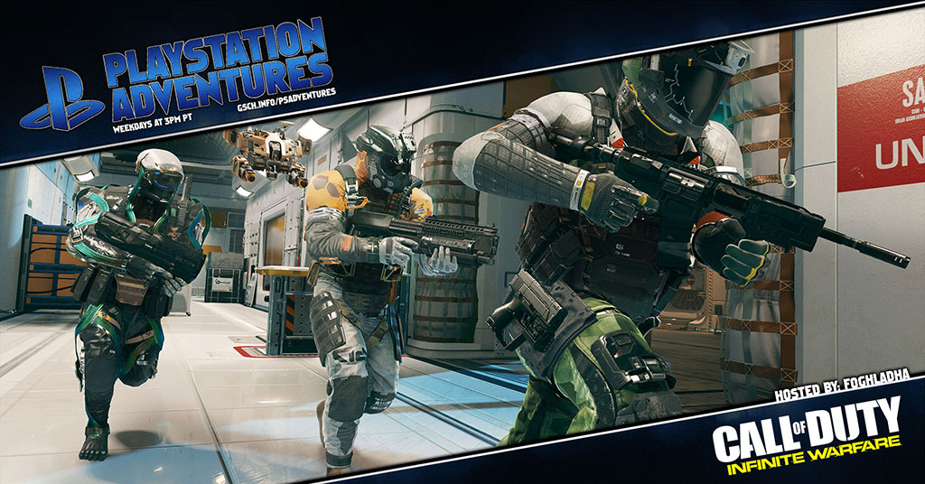 Playstation Adventures: Call of Duty Infinite Warfare - Gaiscioch Magazine & Livestreams