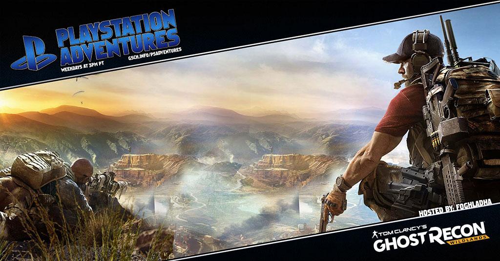 Playstation Adventures: Ghost Recon: Wildlands - Gaiscioch Magazine & Livestreams