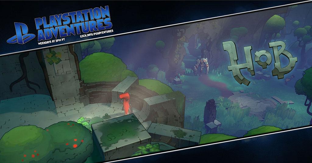 Playstation Adventures: Hob - Gaiscioch Magazine & Livestreams