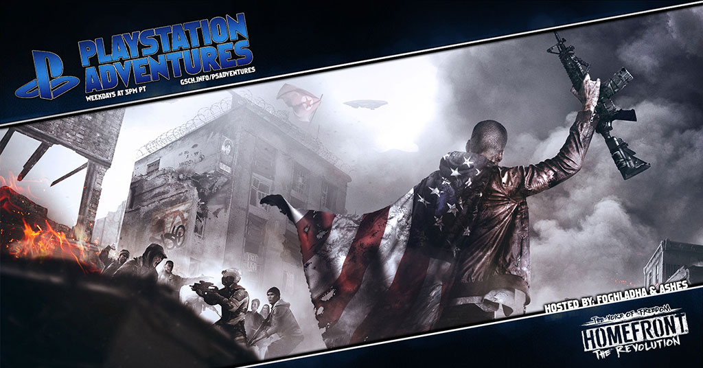Playstation Adventures: Homefront The Revolution - Gaiscioch Magazine & Livestreams