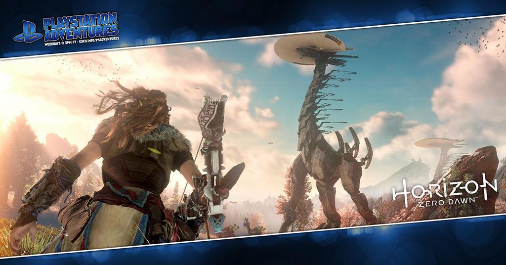 Playstation Adventures: Horizon: Zero Dawn - Gaiscioch Magazine & Livestreams