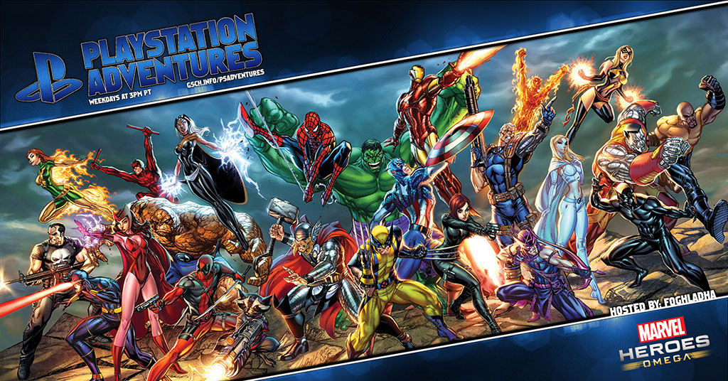 Playstation Adventures: Marvel Heroes Omega - Gaiscioch Magazine & Livestreams