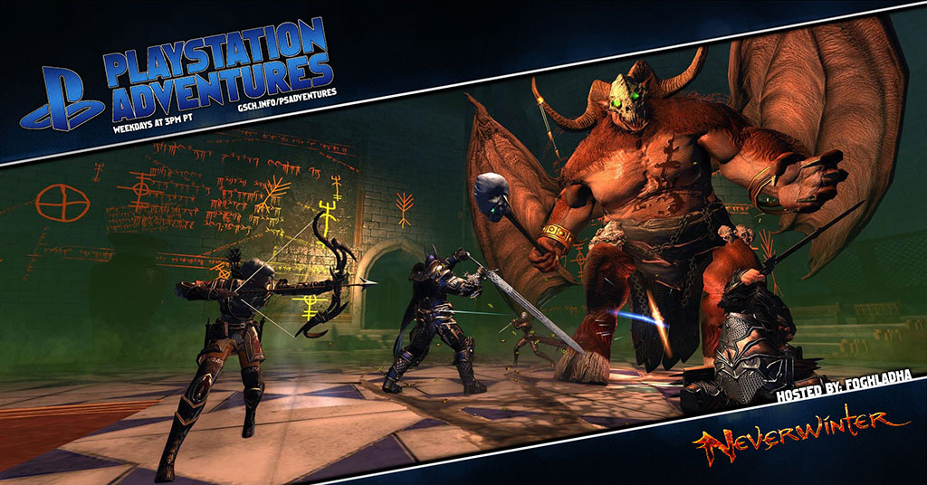 Playstation Adventures: Neverwinter - Gaiscioch Magazine & Livestreams