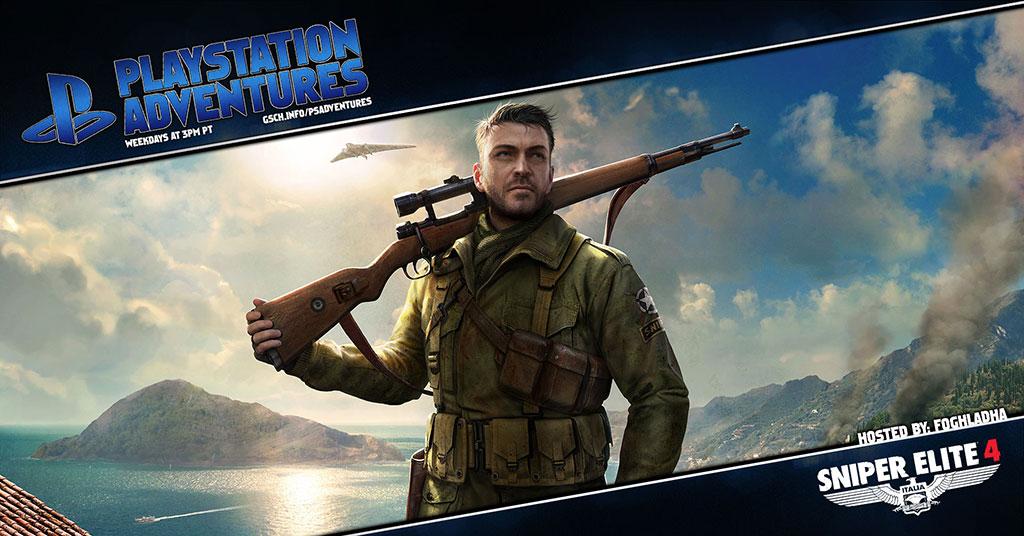 Playstation Adventures: Sniper Elite 4 - Gaiscioch Magazine & Livestreams