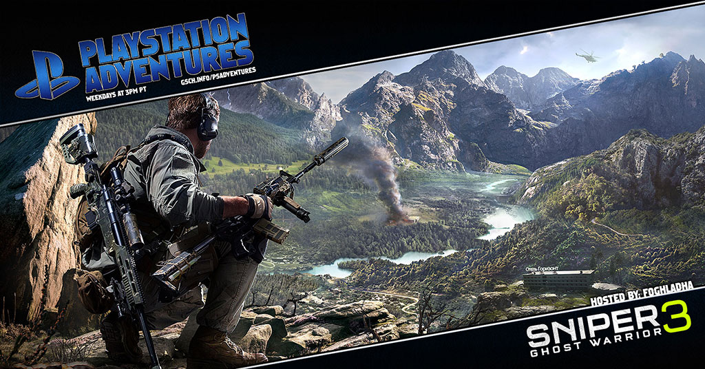 Playstation Adventures: Sniper Ghost Warrior 3 - Gaiscioch Magazine & Livestreams