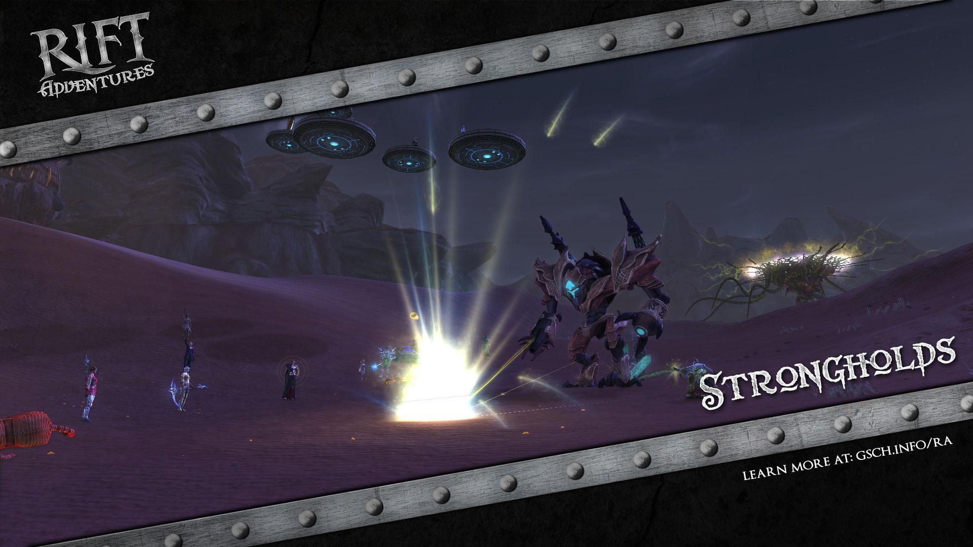 Rift Adventures: Strongholds - Gaiscioch Magazine & Livestreams