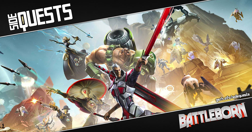 Side Quests: Battleborn - Gaiscioch Magazine & Livestreams