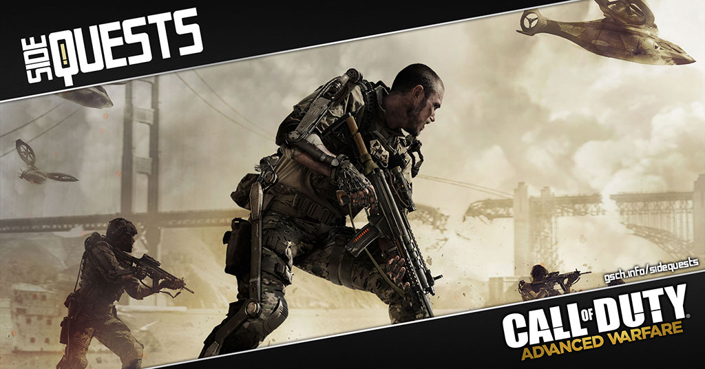Side Quests: Call of Duty Advanced Warfare - Gaiscioch Magazine & Livestreams