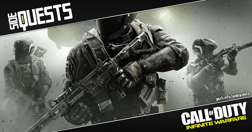 Side Quests: Call of Duty Infinite Warfare - Gaiscioch Magazine & Livestreams