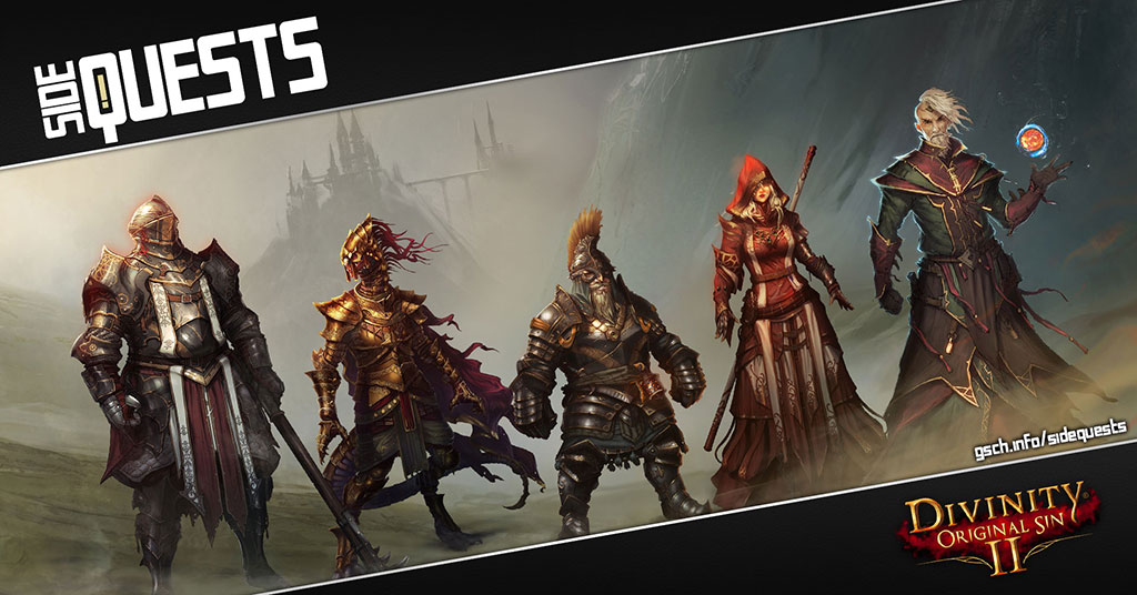 Side Quests: Divinity: Original Sin 2 - Gaiscioch Magazine & Livestreams