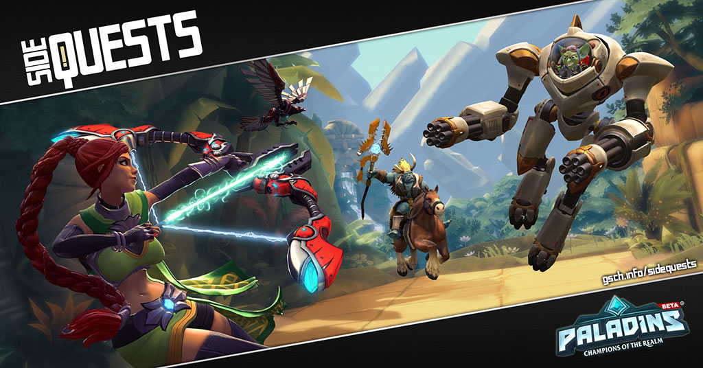 Side Quests: Paladins - Gaiscioch Magazine & Livestreams