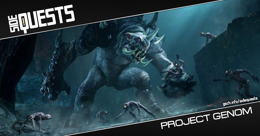 Side Quests: Project Genom - Gaiscioch Magazine & Livestreams