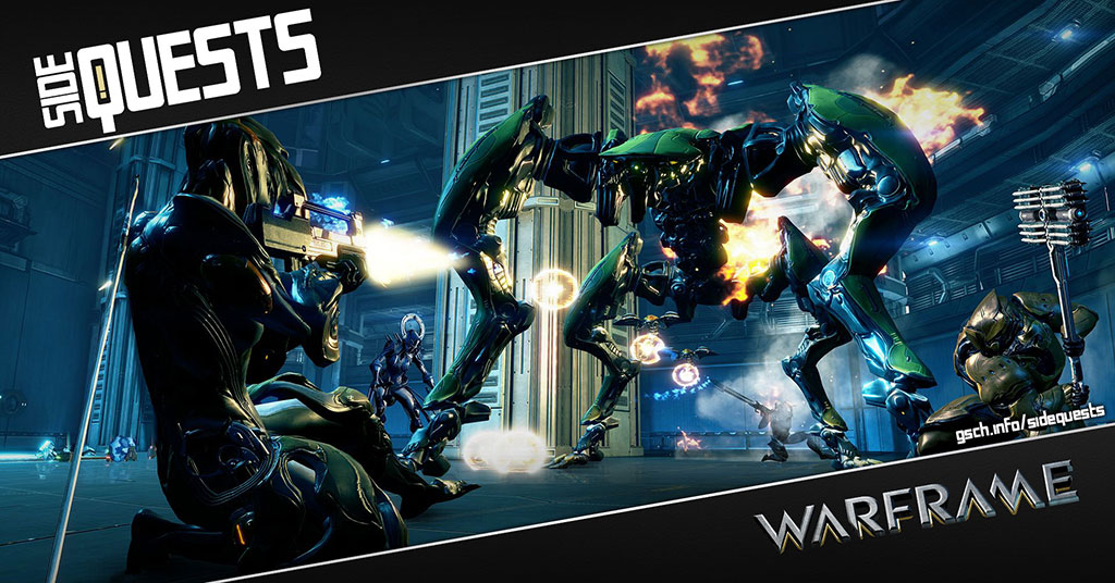 Side Quests: Warframe - Gaiscioch Magazine & Livestreams