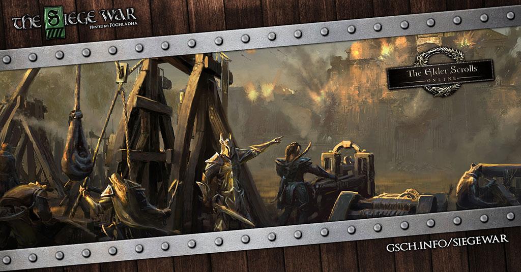 The Siege War: Elder Scrolls Online - Gaiscioch Magazine & Livestreams