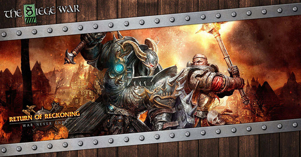 The Siege War: Warhammer Online - Gaiscioch Magazine & Livestreams
