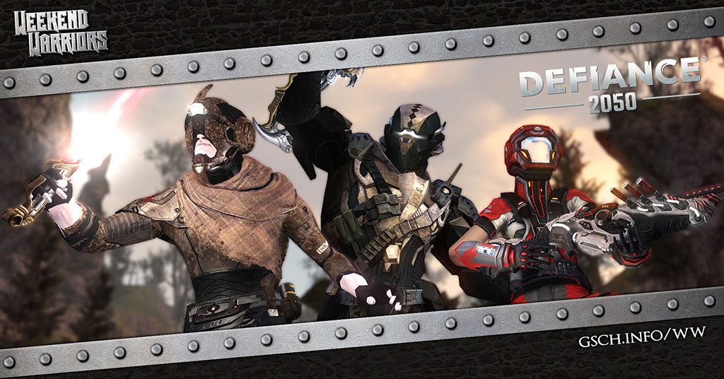Weekend Warriors: Defiance 2050 - Gaiscioch Magazine & Livestreams