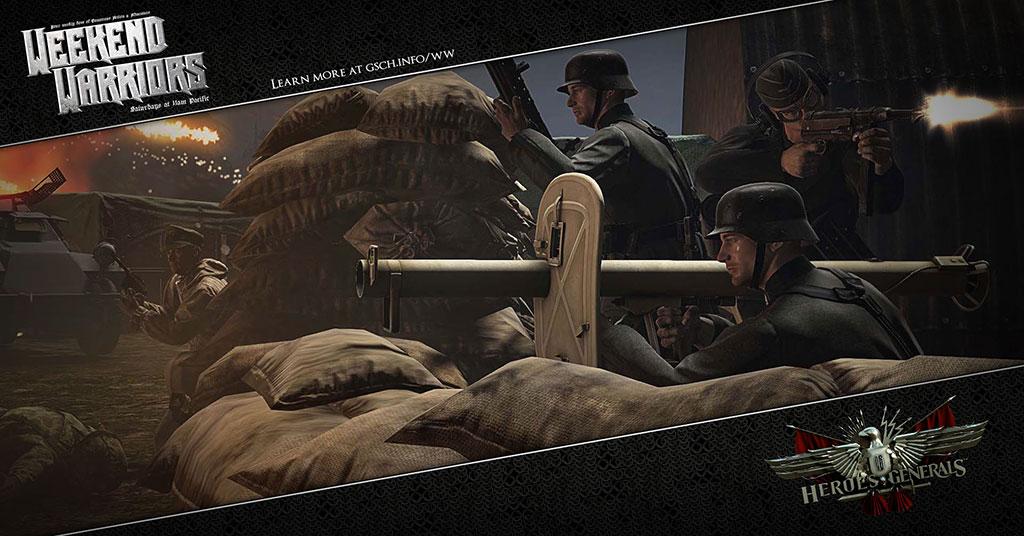 Weekend Warriors: Heroes & Generals - Gaiscioch Magazine & Livestreams